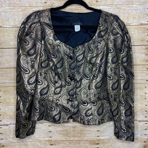 Vintage 80s 90s Night Way Collection Top Sz 12
